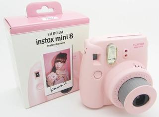 Cámara Instax Mini 8 Black Negra Fujifilm Original