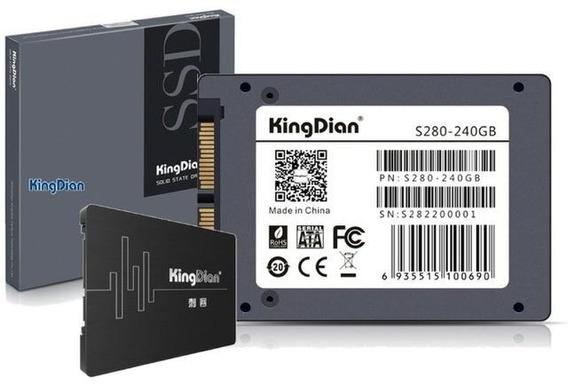 Hd Ssd Kingdian 240 Gb 560/422 Mb/s Original 10x Mais Rápido