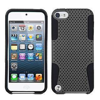 Asmyna Grey Black Astronoot Protector Cover For iPod