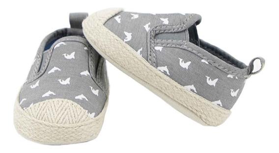 Zapatos Casuales Estampados Para Bebe Niño 03891