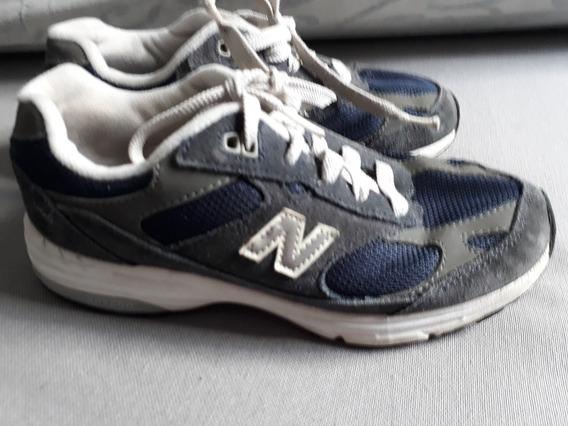 Zapatillas New Balance Nene Talle 33.5 Leer