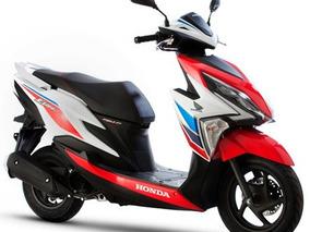 Scooter Honda New Elite Tricolor 0km 2018- Motopier- If