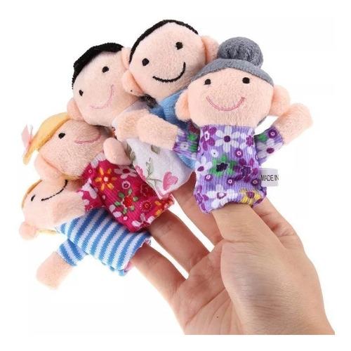 Titeres De Dedo Familia Estimulacion Temprana Niños Bebes