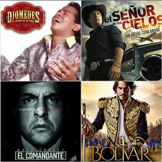 Serie Diomedez,bolívar, El Comandante.el Señor De Los Cielos