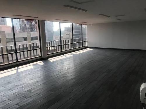 Oficina Renta Anzures, Penthouse 350m2, Cerca Metro, Vigilan