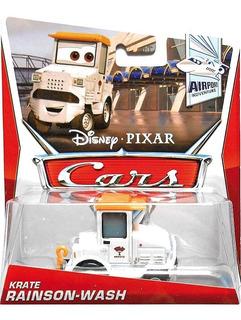 Disney Cars 2 Krate Rainson Wash Mattel Mcqueen Finn Mater
