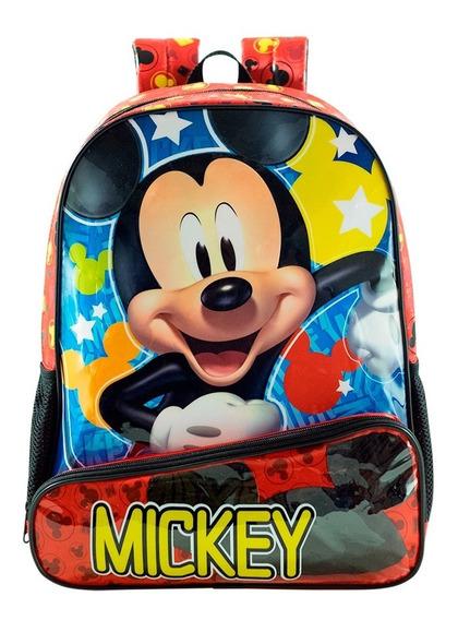 Mochila 16 Costas Mickey Mouse Hey Mickey!