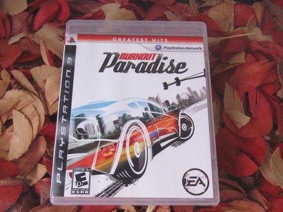 Burnout Paradise Mídia Física Impecável Ps3