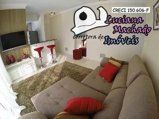Apartamento Para Venda Em Atibaia, Jardim Alvinópolis, 2 Dormitórios, 1 Suíte, 2 Banheiros, 2 Vagas - Ap00013