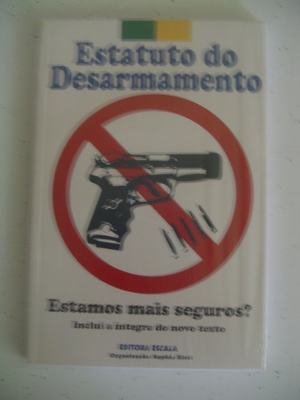 Livreto Estatuto Do Desarmamento Editora Escala - Lacrado