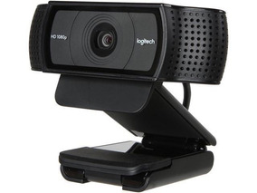 Webcam Logitech C920 Pro Fullhd 1080p Foto 15mp A Camera Dos