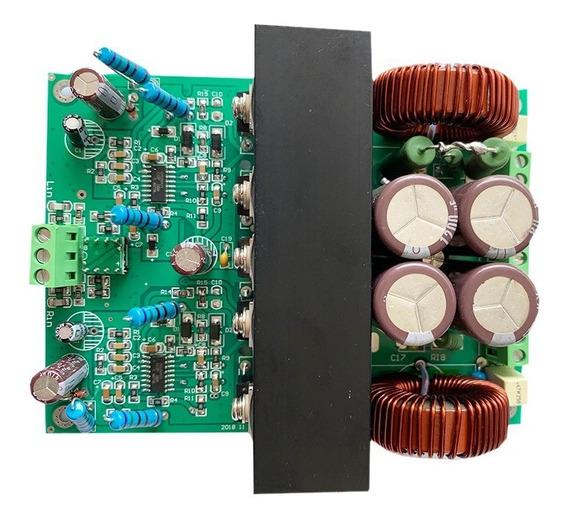 Placa Amplificador Digital Estéreo 800 + 800 W Rms 4 Ohms