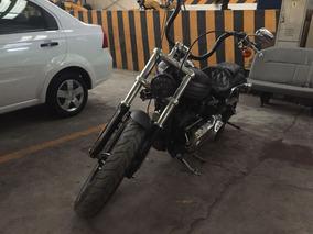 Hermosa Harley Davidson Break Out Con Muchos Accesorios