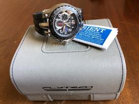 Relógio De Pulso Orient - Flytech - Muito Novo - Caixa