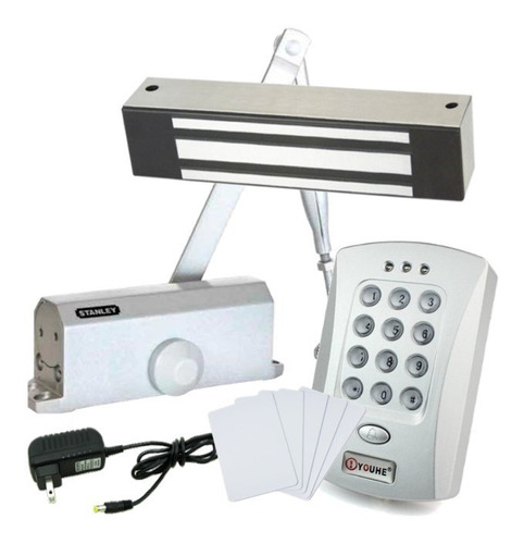 Control De Acceso | Kit Rfid | Electroiman | Cierra Puertas