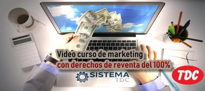 Sistema - Escuela Marketing Digital, P/emprendedores Online