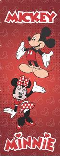 Adesivo Envelopar Porta Da Geladeira Freezer Mickey Minnie