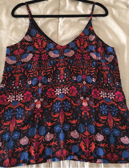 Musculosa Flores Marca Hym.