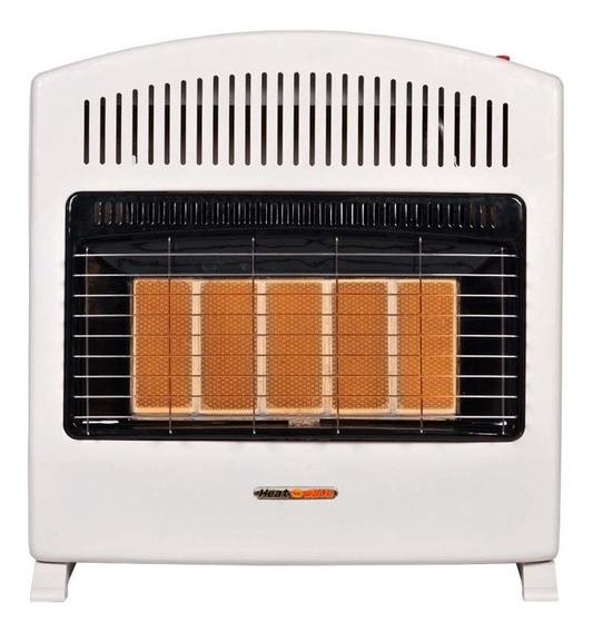 Calefactor Pared Infrarojo 5 Radiantes Gas Lp Nat Heat Wave