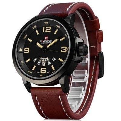 Relógio Militar Naviforce 9028 Á Prova D