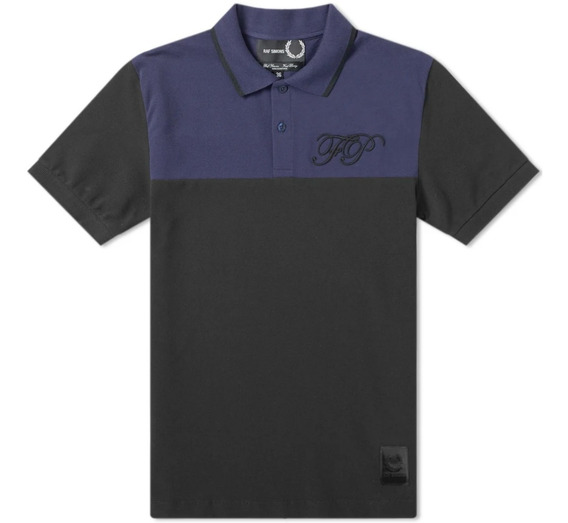 Polo Raf Simons X Fred Perry Embroidered Pique 42 G Original