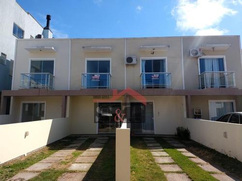 Imagem 1 de 21 de S&t Sobrado Com 2 Dormitórios À Venda, 80 M² Por R$ 185.000 - Ingleses Do Rio Vermelho - Florianópolis/sc - So0079