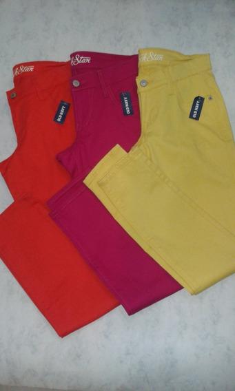 Pantalones Casuales Importados En Variedad De Colores