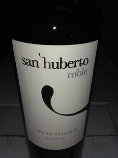 Vino San Huberto Roble Malbec