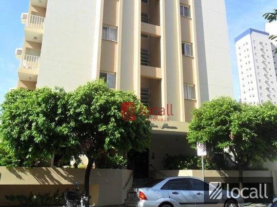 Apartamento Com 1 Dormitório Para Alugar, 50 M² Por R$ 500,00/mês - Vila Imperial - São José Do Rio Preto/sp - Ap1396