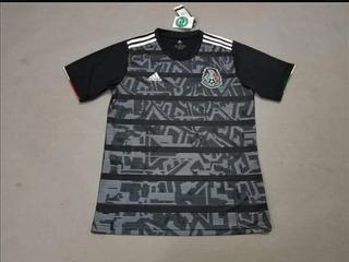 Jersey Selección Mexicana 2019 Negra Copa Oro