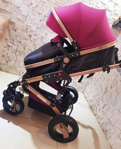 Baby Car Stroller Importado Berço Moisés Passeio Luxo