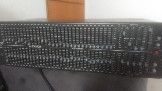 Potência Tip3000 +equalizador Techvox Tge 32 Bandas