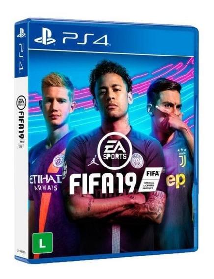 Game Jogo Fifa 2019 Edição Completa Midia Fisica - Ps4