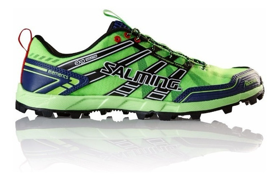 Zapatillas Hombre Salming Running Elements Trail Verdes