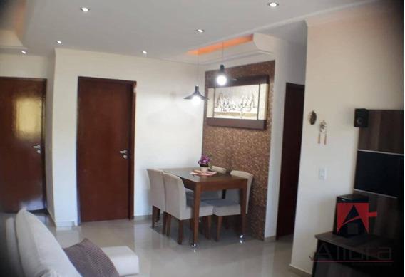 Belo Apartamento Com 3 Dormitórios, Sendo 1 Suíte À Venda, Por R$ 480.000 - Condomínio Jardins De Bragança - Bragança Paulista/sp - Ap1046