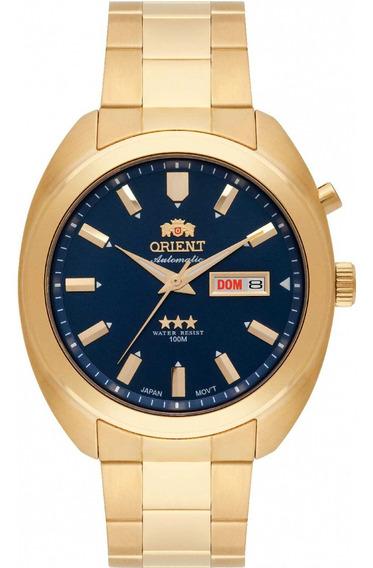 Relógio Orient Masculino Automático 469gp077 D1kx - Azul