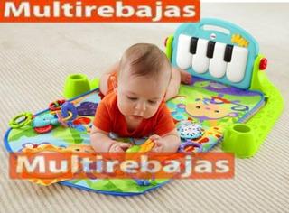 Gimnasio Didáctico Para Bebe Con Piano Musical, Juguetes Y A
