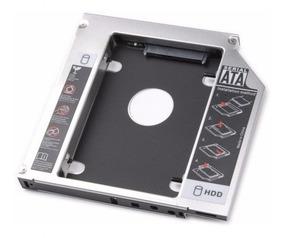 Adaptador Caddy 12,7mm Dvd Para Segundo Hd Ou Ssd 2.5 Sata