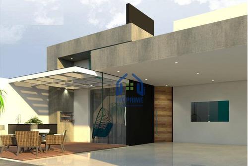 Casa Com 3 Dormitórios À Venda, 120 M² Por R$ 480.000,00 - Residencial Ary Attab - São José Do Rio Preto/sp - Ca2322