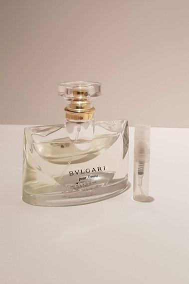 Perfume Bvlgari Pour Femme Edp Amostra 2ml