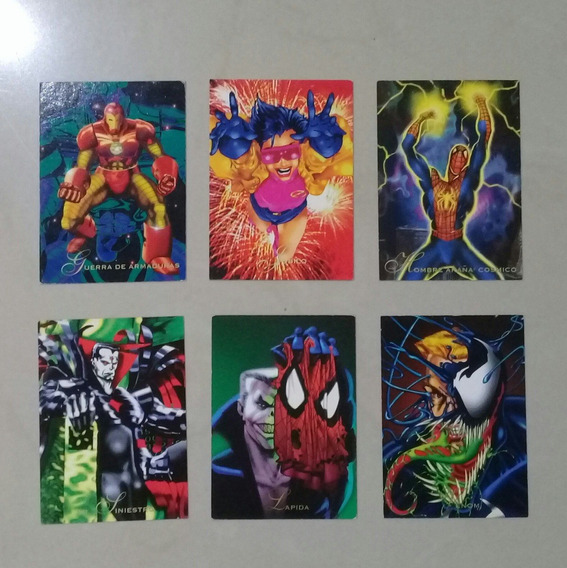 Marvel Pepsi Cards 60´s 80´s