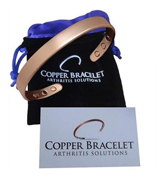 Pulsera De Cobre Para La Artritis   Hombre Y Mujer  Copper B
