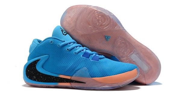 Tenis Nike Zoom Freak 1 Giannis Antetokounmpo Varias Cores