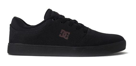 Tenis Dc Shoes Crisis Tx Black Black Dark Grey