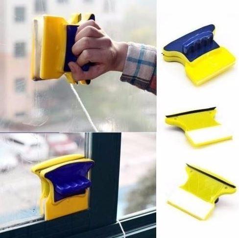 limpar janelas de vidro