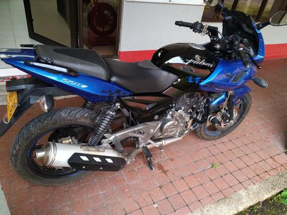 Moto Pulsar 220f - 2012 / 28.200 Km Oportunidad Como Nueva