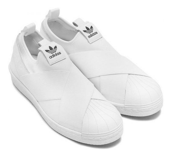 Tênis Slip On Branco Importado Original Unissex Frete Gratis