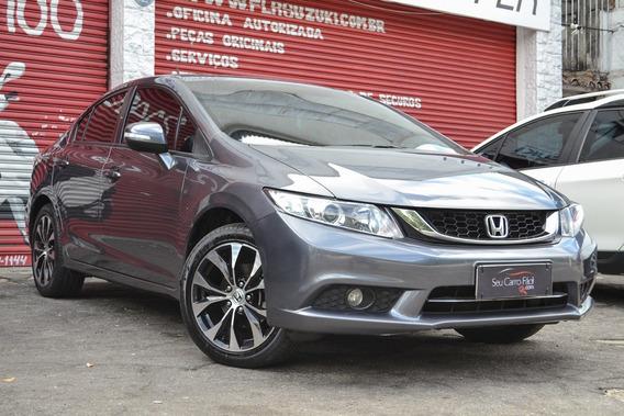 Honda Civic Lxr - Único Dono - Impecável - 2015