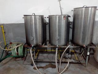 Bloque De Cocción De Cerveza Artesanal 150l Leer!!!.