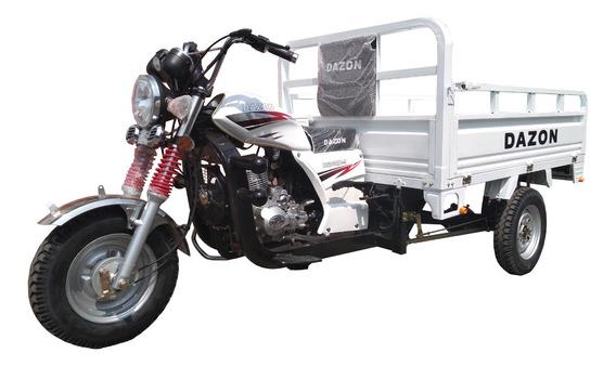 Motocarro Dazon 200cc Purificadora Garrafonero Comida 600kg